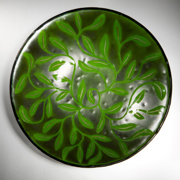Large-Green-Black-Daisy-Bowl-4