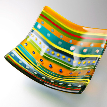 Small Bright Stripe Bowl